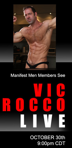 Liveshow-upcoming Vic Rocco Halloween