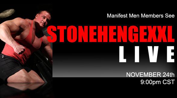 Liveshow-upcoming StonehengeXXL Nov